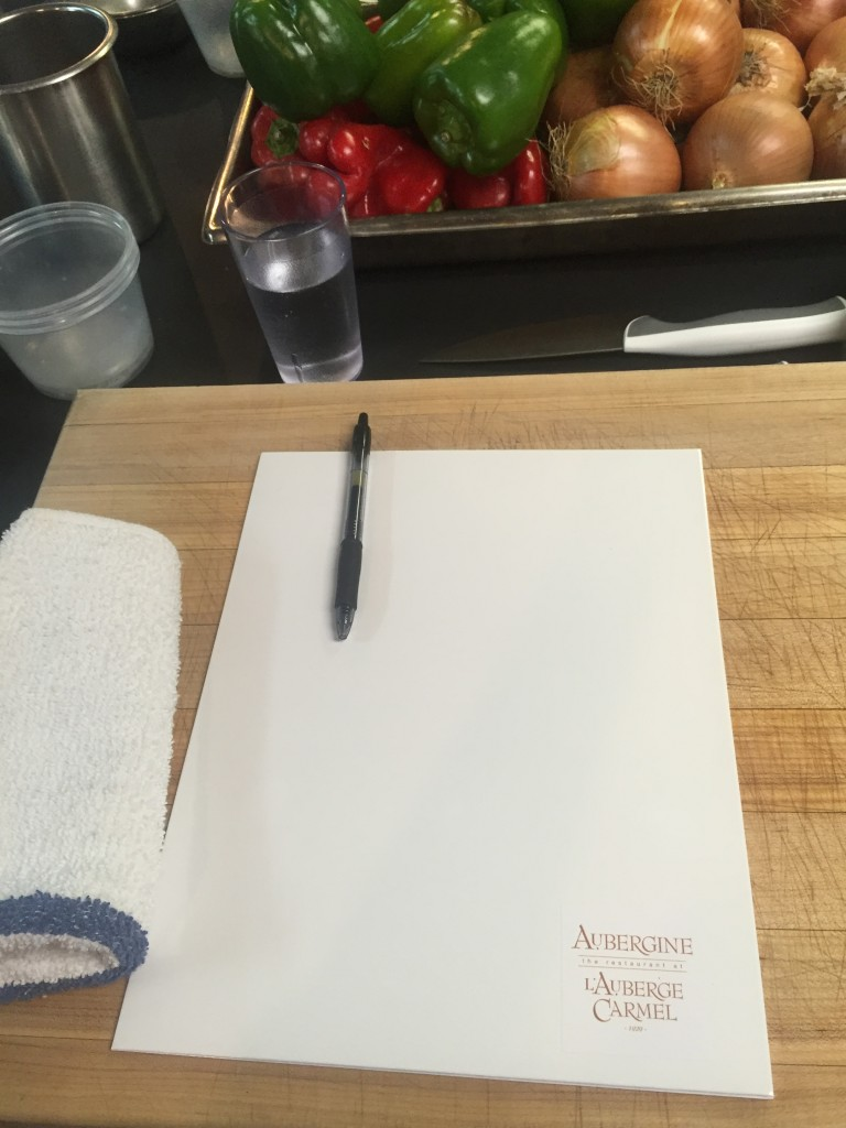 Cooking Lessons at Aubergine & L'Auberge Carmel, CA