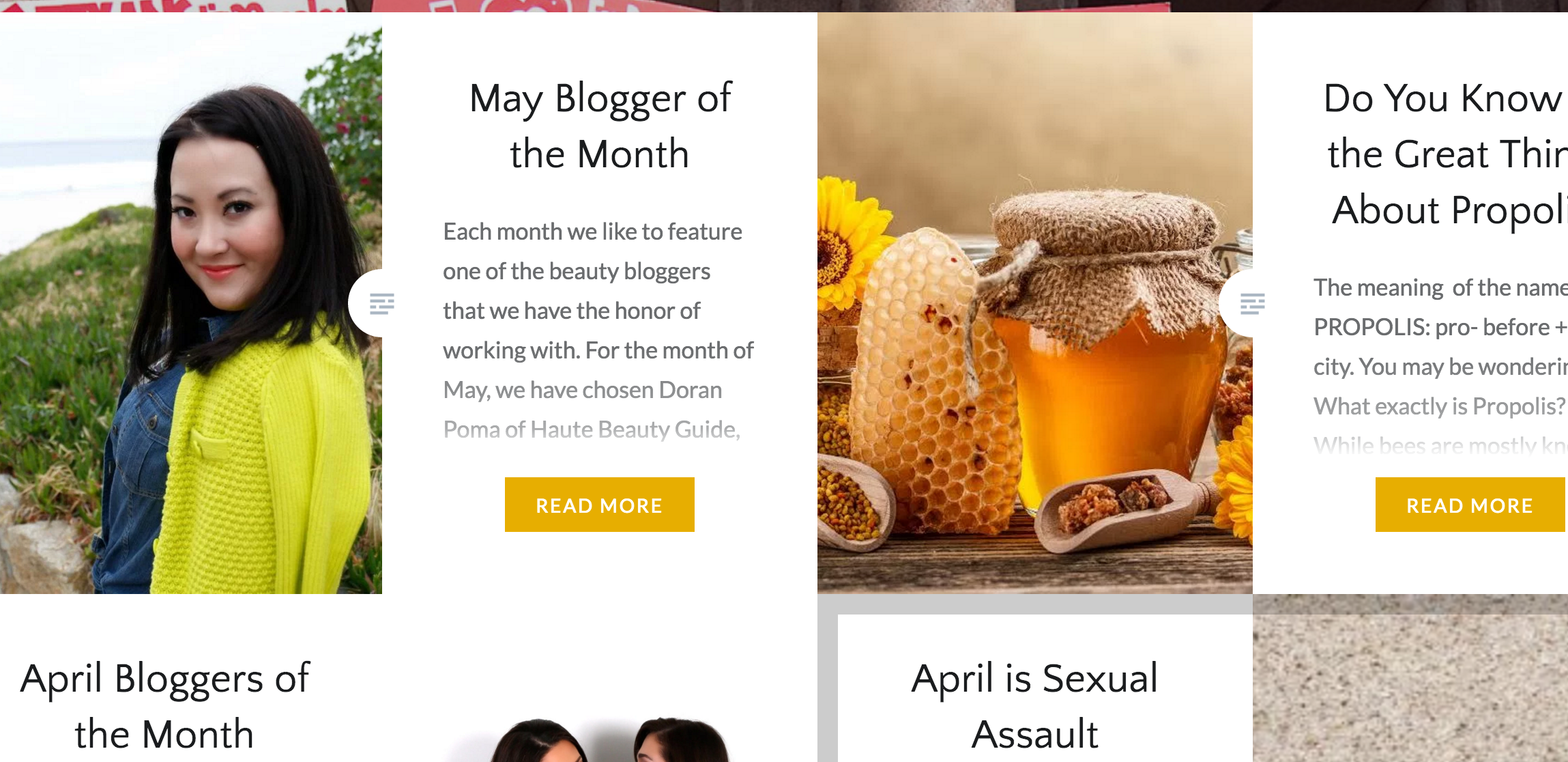 May Blogger of the Month Hey Honey