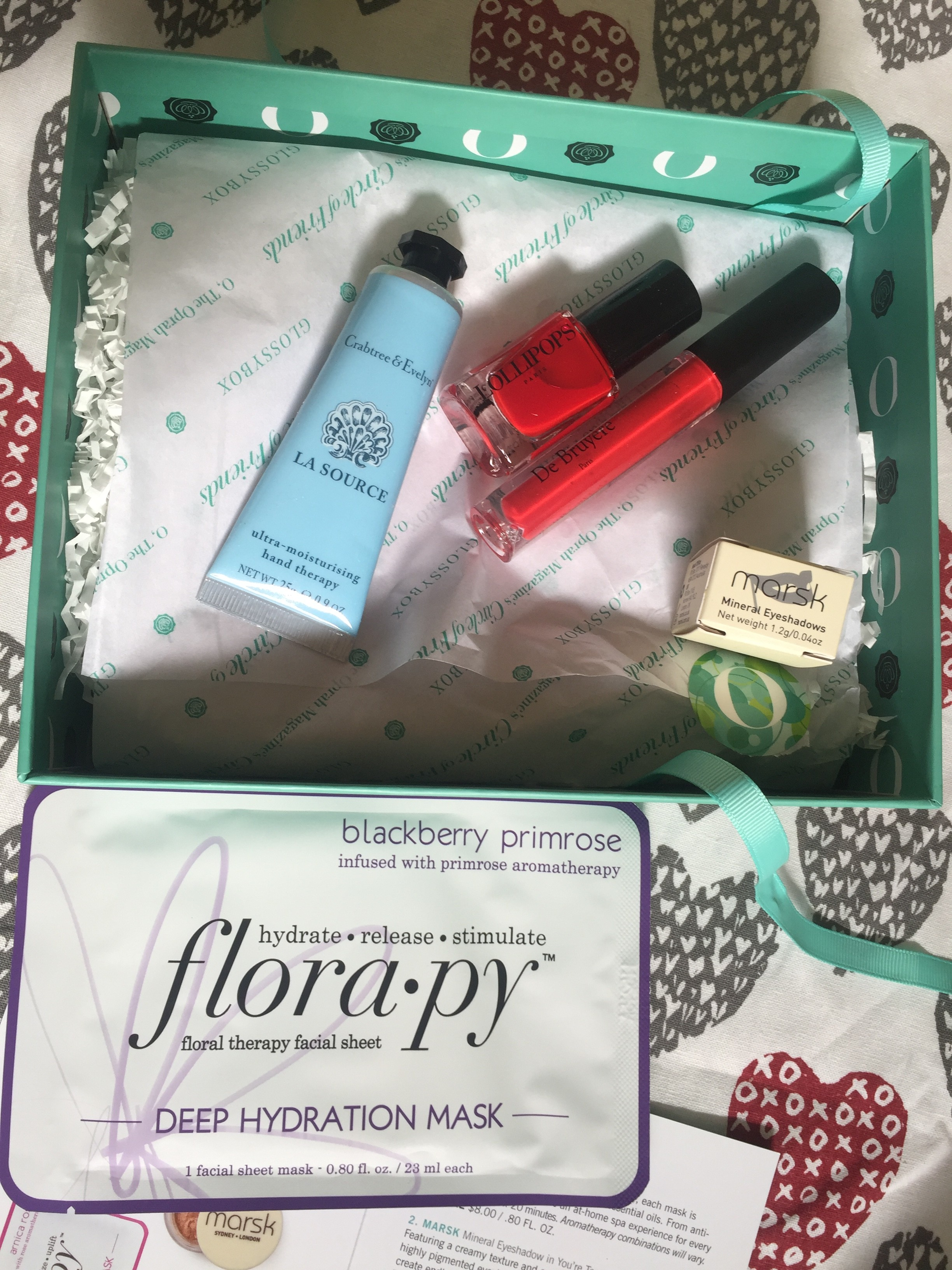 GlossyBox Review + Oprah Reveal featured by popular California life and style blogger, Haute Beauty Guide