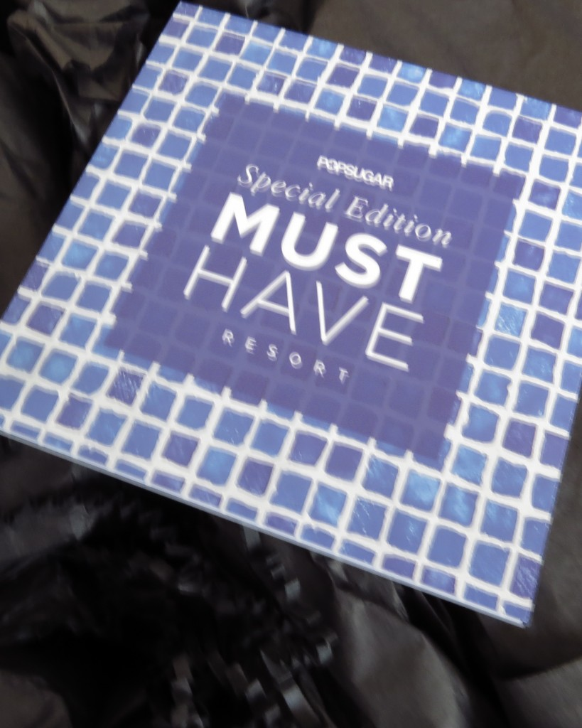 PopSugar Must Have Box Resort 2016