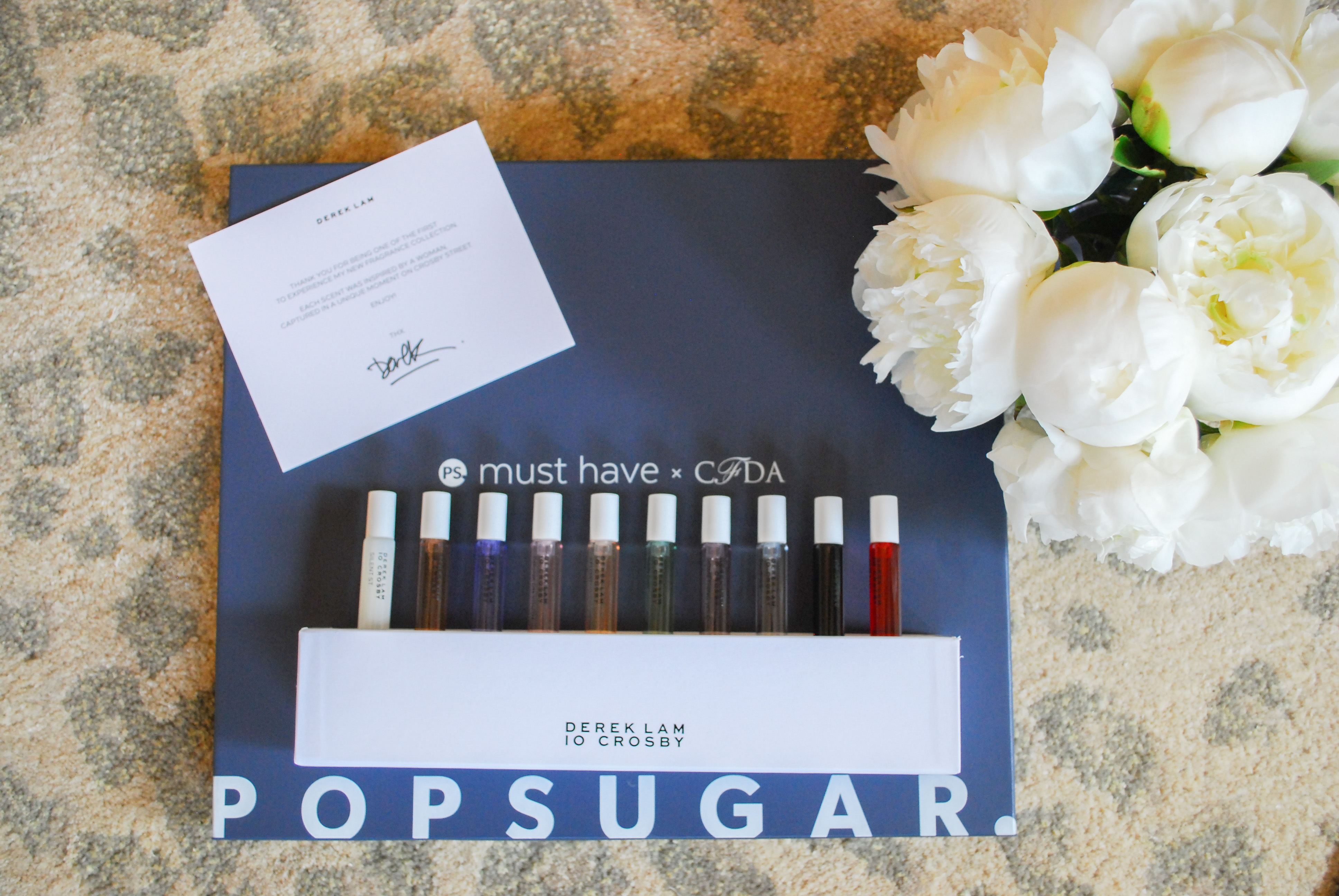 Popsugar X CFDA Reveal featured by popular California beauty blogger, Haute Beauty Guide