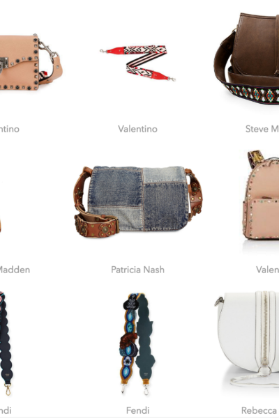 Guitar Strap Bags Valentino , Fendi featured by popular California style blogger, Haute Beauty Guide