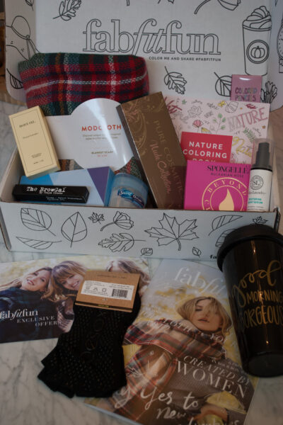 FabFitFun Fall Box 2016 Reveal and review featured by popular California beauty blogger, Haute Beauty Guide