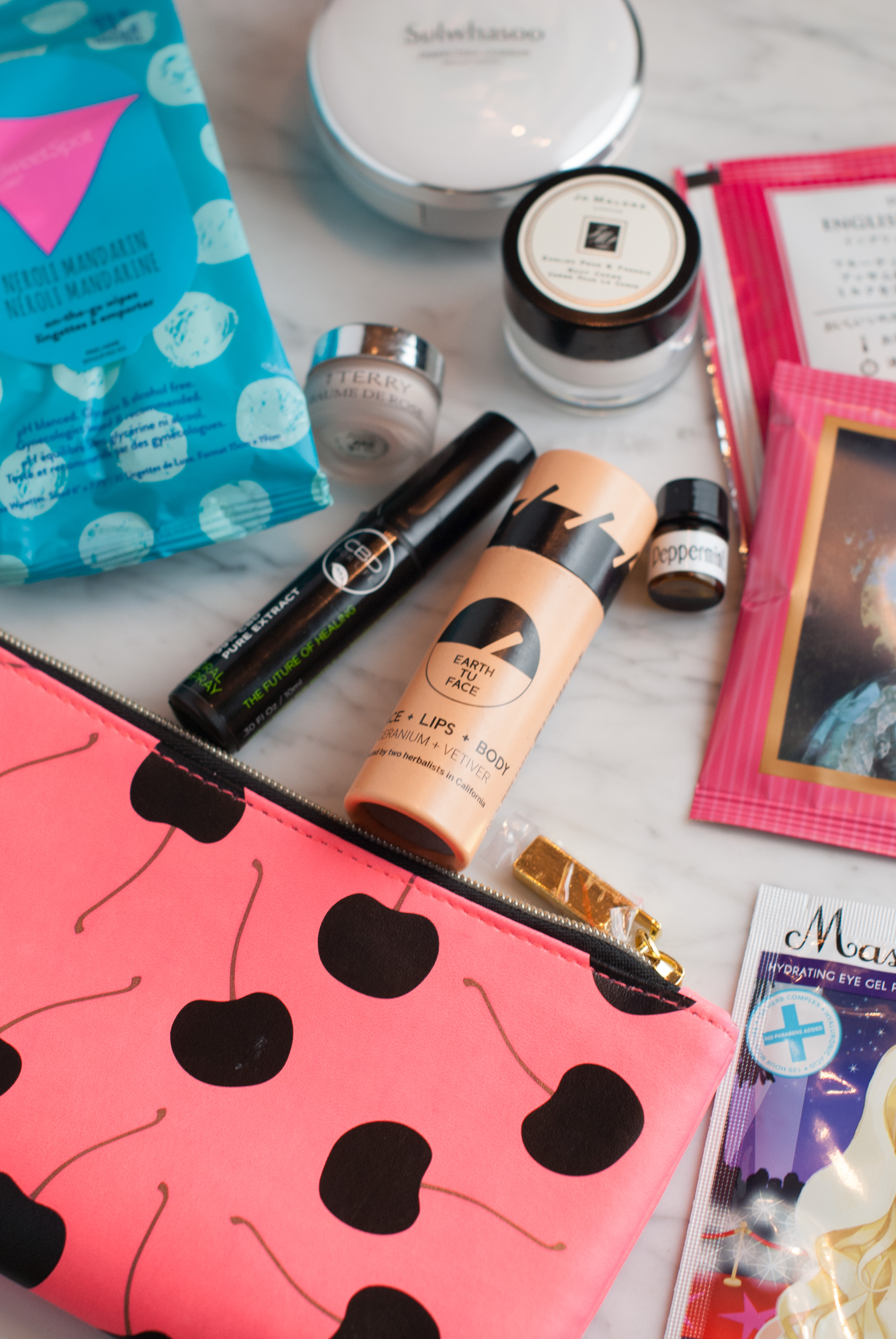 What's In My Travel Bag... Sweetspot Labs, MaskerAide... - My Favorite Carry On Essentials featured by popular California beauty blogger, Haute Beauty Guide