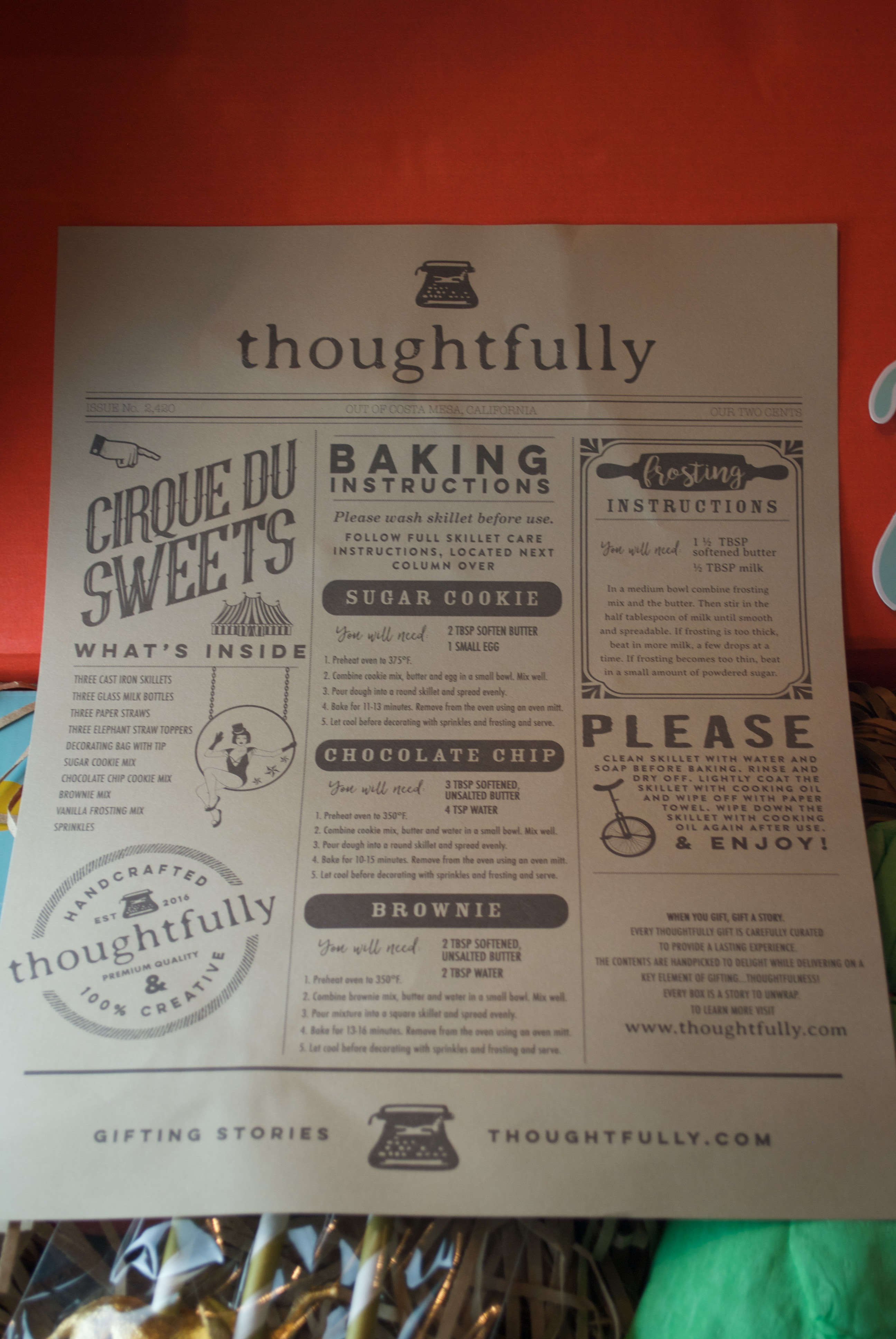The perfect holiday gift for a family from Thoughtfully.com
