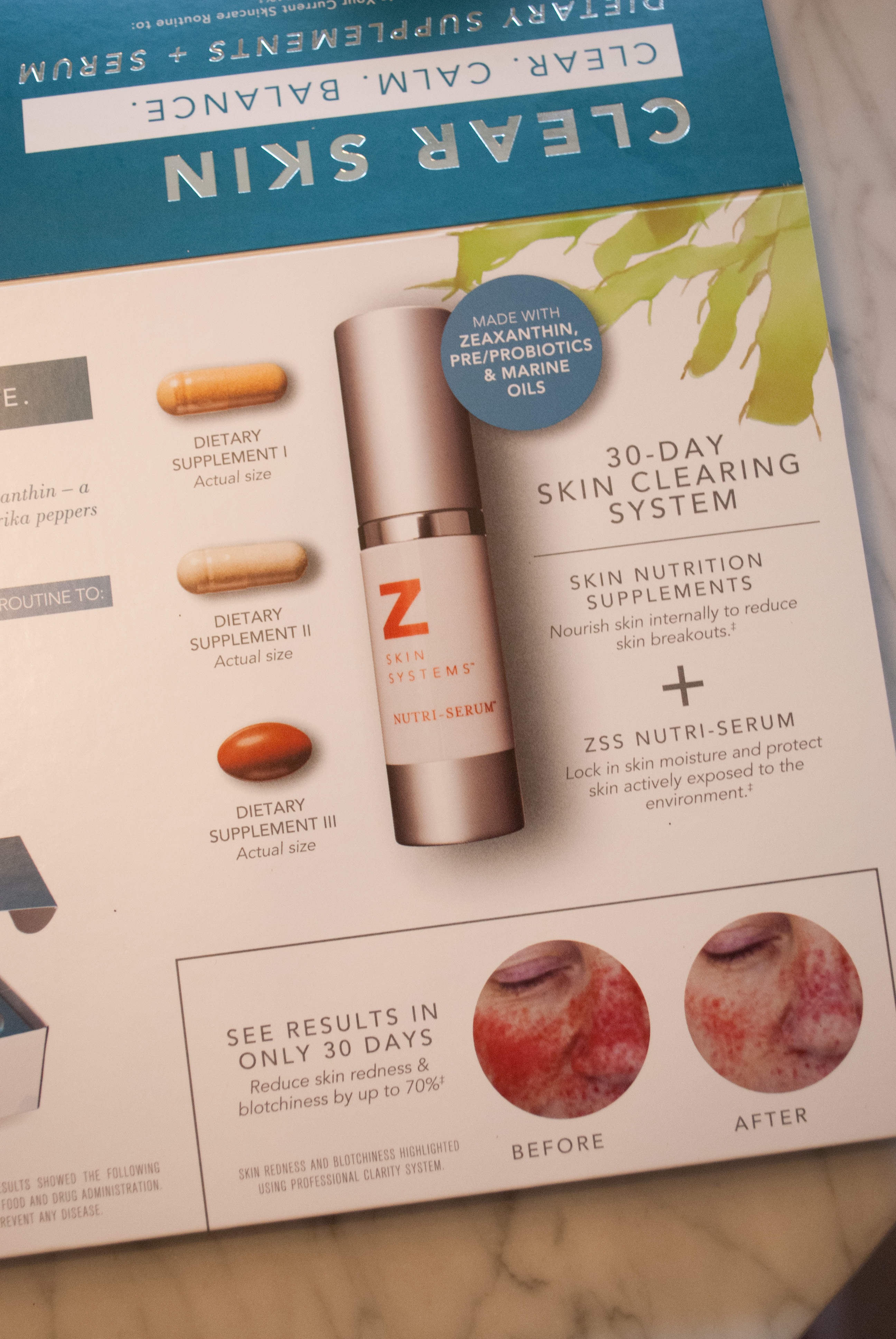 z-skin-care-supplements for acne