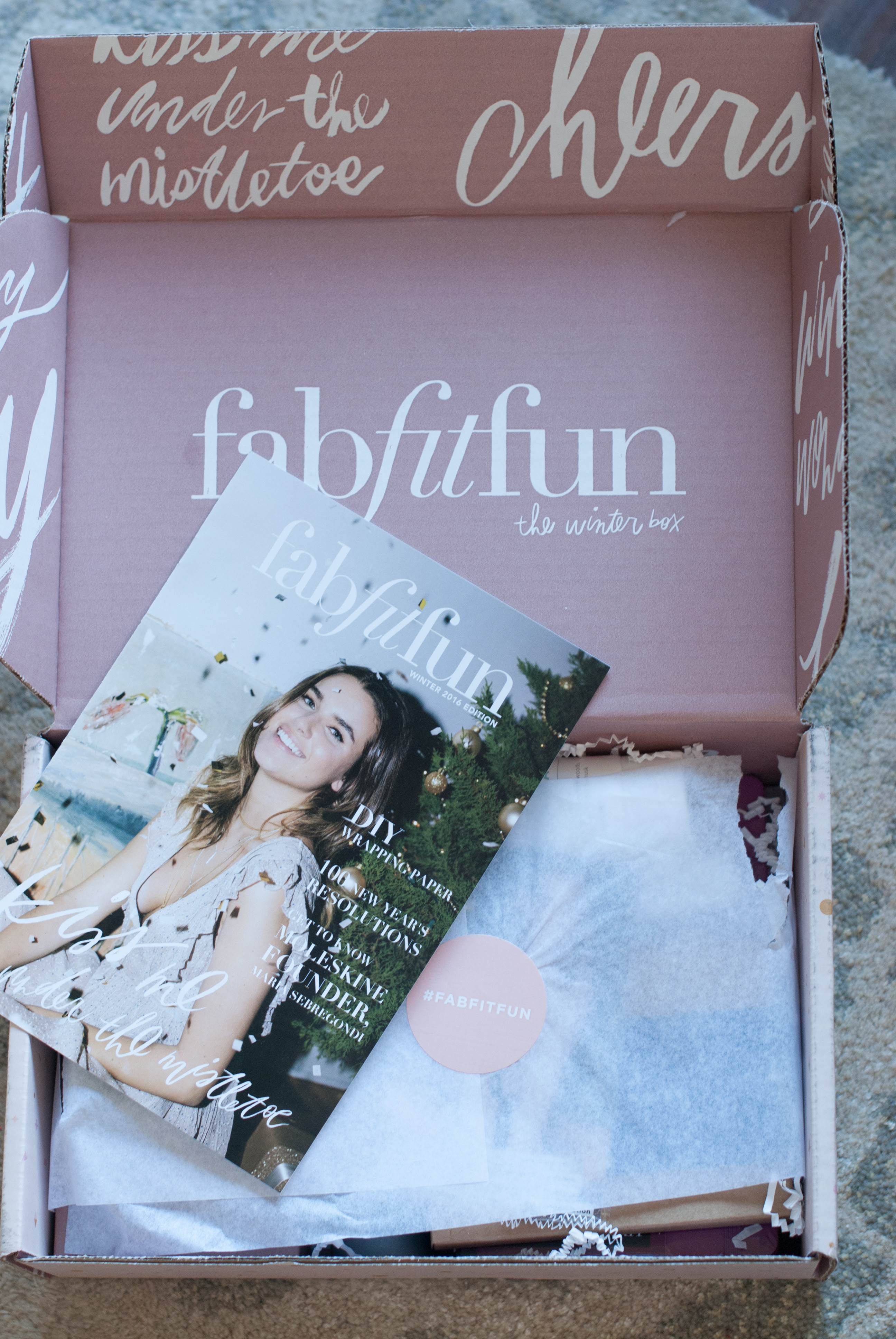Fab Fit Fun Winter Reveal ++ Giveaway