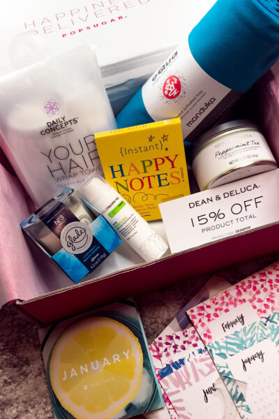 January 2017 Popsugar Must Have Box