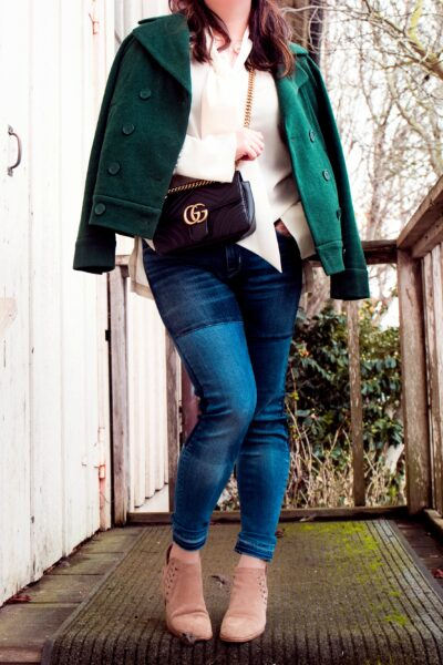 A Classic OOTD for chilly days in Pacific Grove