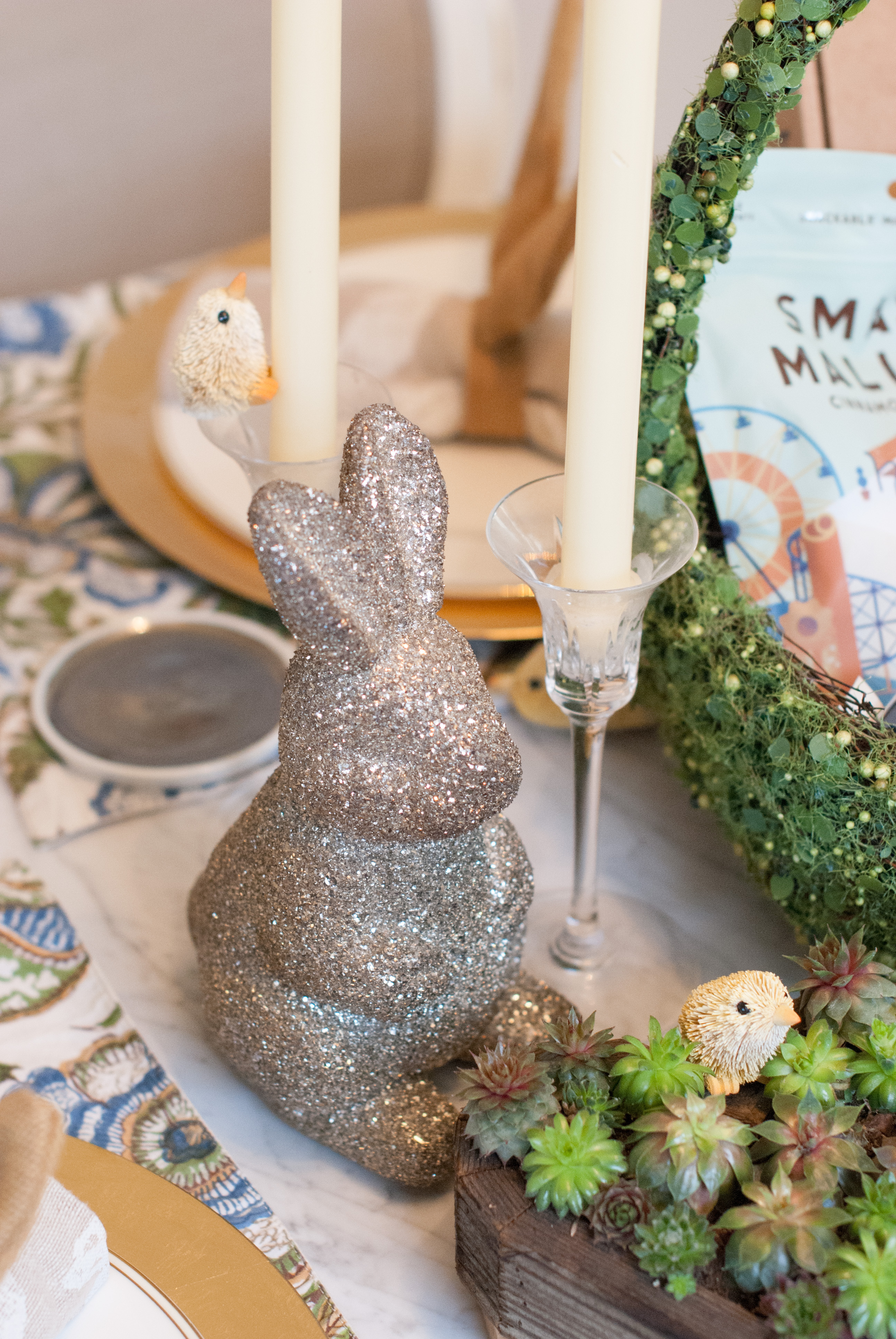 Easter Basket and Tablescape ft. Harry's
