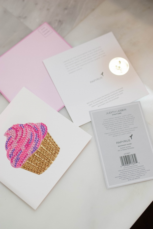 Judith Leiber X Papyrus complete collection #CreateCultivateNYC - Judith Leiber X Papyrus Cards featured by popular California life and style blogger, Haute Beauty Guide