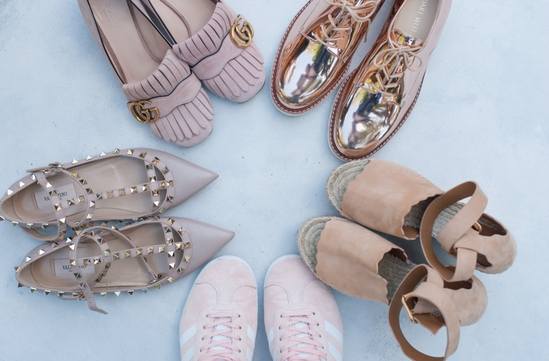 Five Perfectly Pink Shoes for Spring