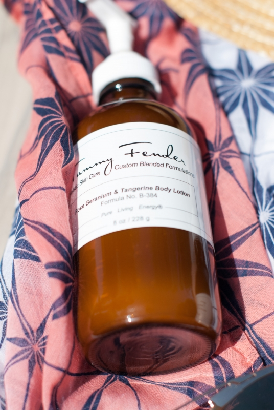 Pool Days Tammy Fender Bulgarian Lavender Body Oil featured by popular California beauty blogger, Haute Beauty Guide