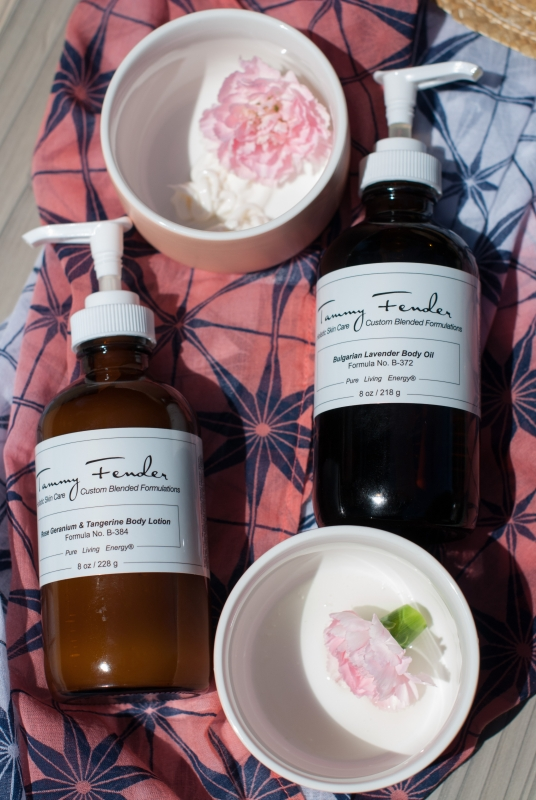 Tammy Fender Rose Geranium & Tangerine Body Lotion