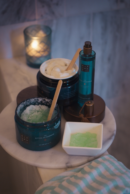 How to turn your shower into a hammam spa treatment with Rituals