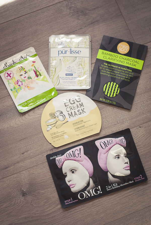 Five Favorite Sheet Masks and How to Use them. Plus who should use them.