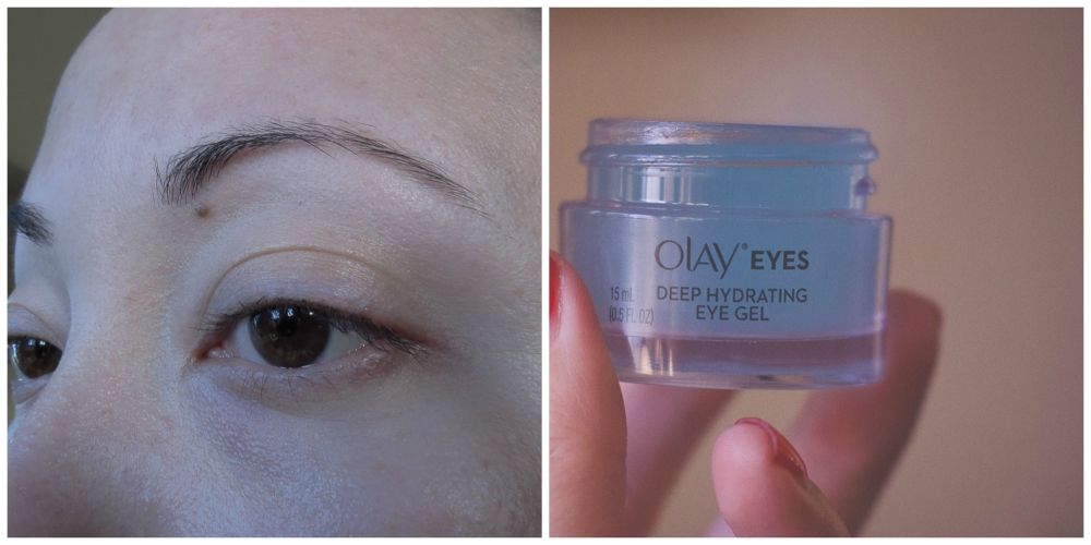 OLAY EYES DEEP HYDRATING EYE GEL WITH HYALURONIC ACID FOR TIRED, DEHYDRATED EYES 0.5 FL OZ