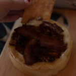 Bacon, Walnut and Maple Baked Brie