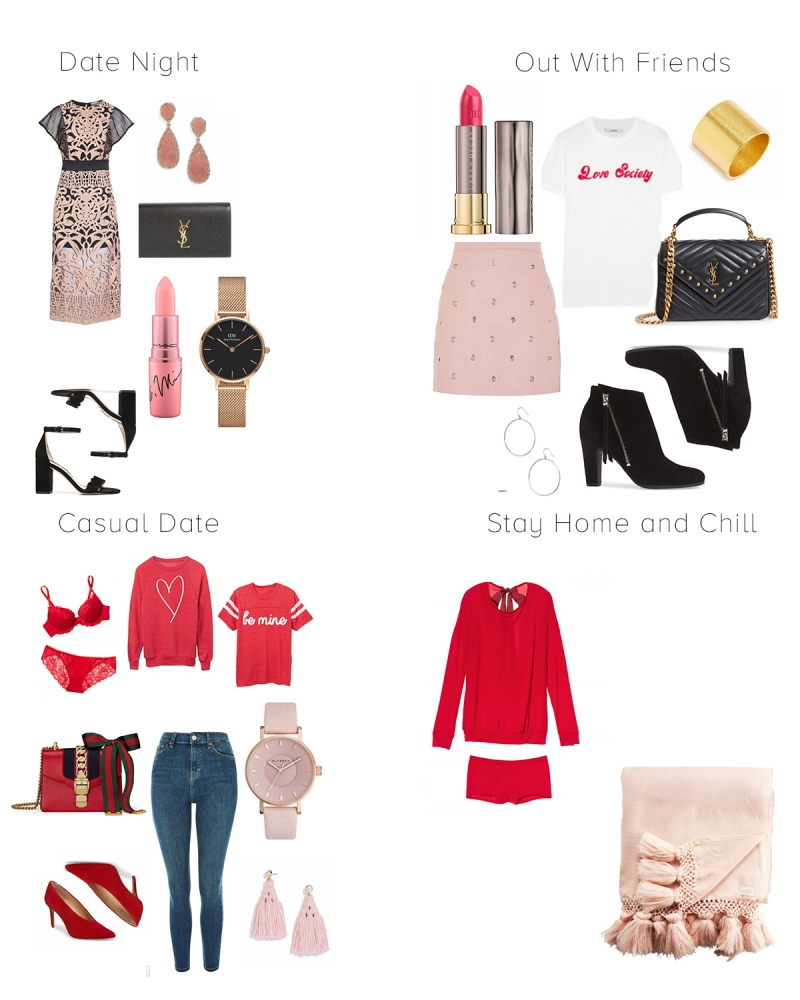 Valentines Date Night Outfit Ideas featured by top US life and style blog, Haute Beauty Guide