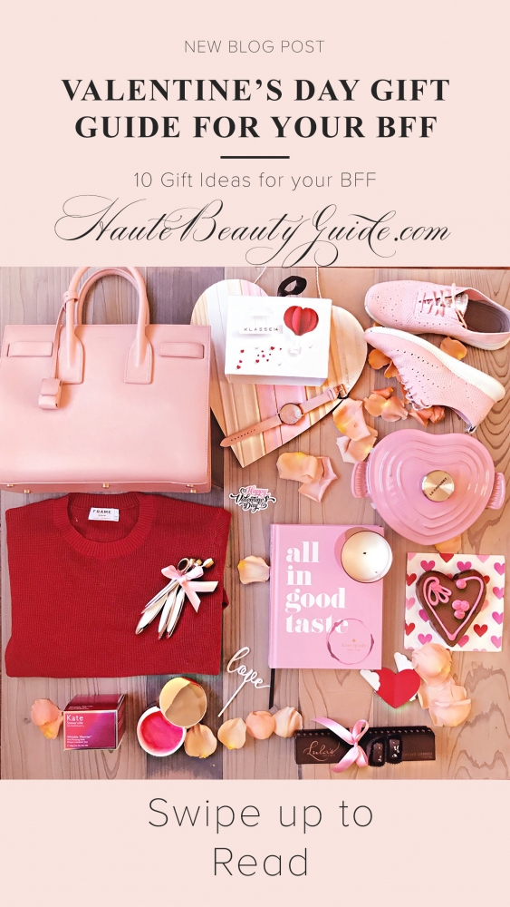 Top 10 Perfect Valentine's Day Gifts for Her featured by top US life and style blog, Haute Beauty Guide