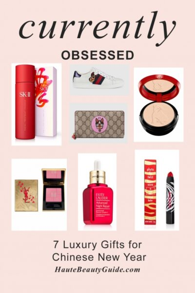 7 Chinese New Year Gift Ideas for the Beauty Lover featured by popular Los Angeles beauty blogger, Haute Beauty Guide