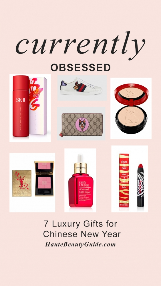 7 lusury beauty and fashion gift ideas for Chinese New Year