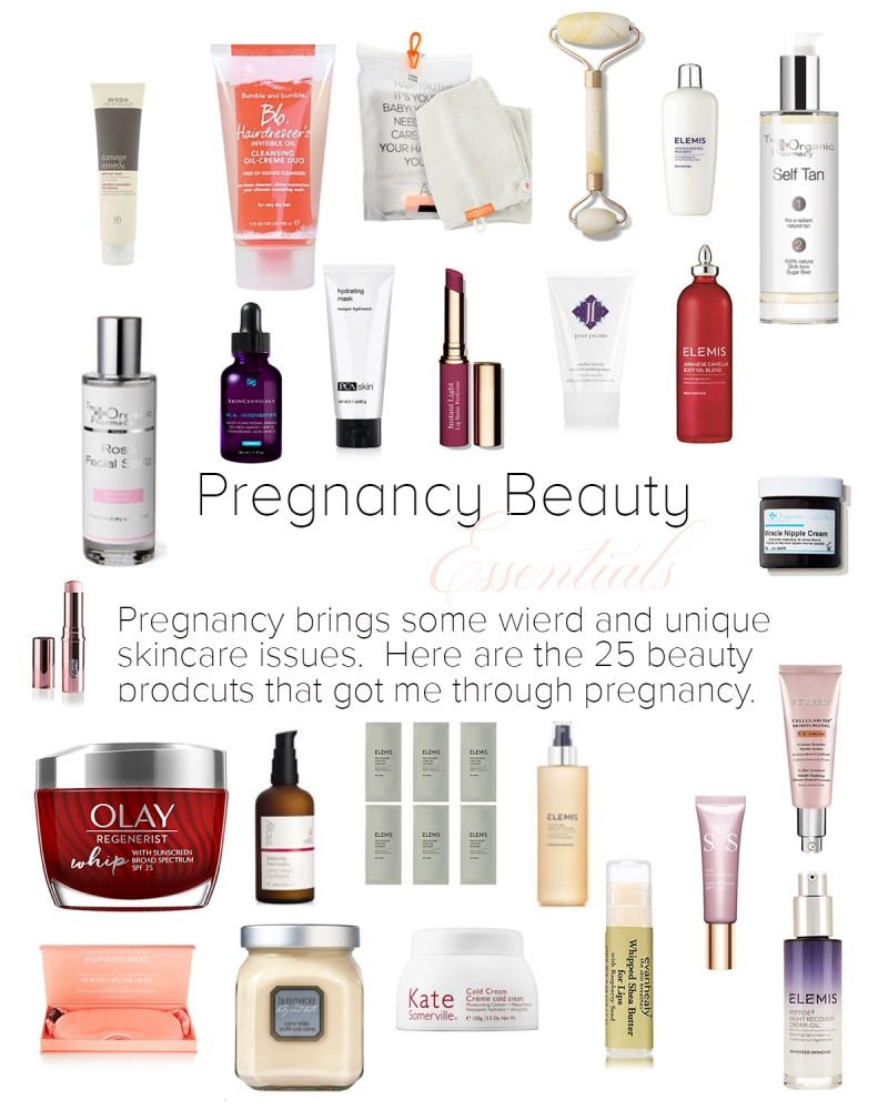 Pregnancy Beauty Essentials