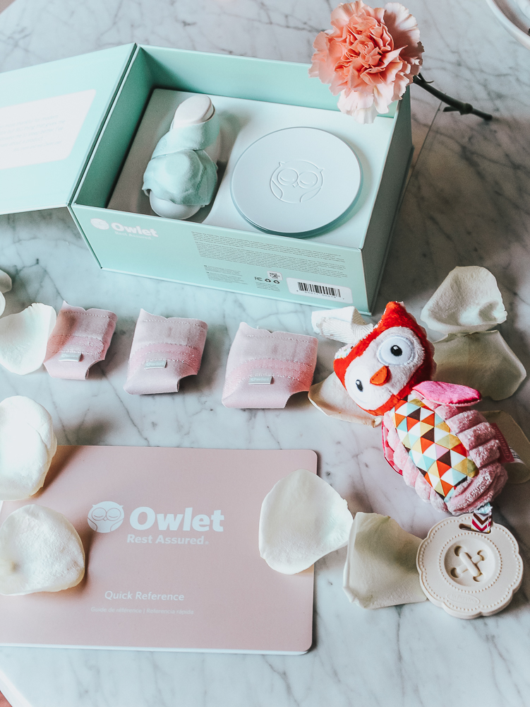 Sleeping Well With a New Baby + Owlet Baby Monitor Review by popular California mommy blogger, Haute Beauty Guide