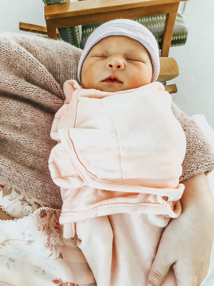 Olivia Tomoko Birth Story featured by popular California style blogger, Haute Beauty Guide