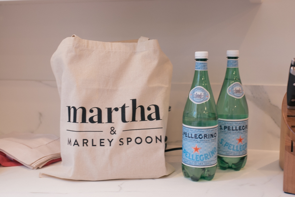 Entertaining with Martha & Marley Spoon by popular California Blogger, Haute Beauty Guide