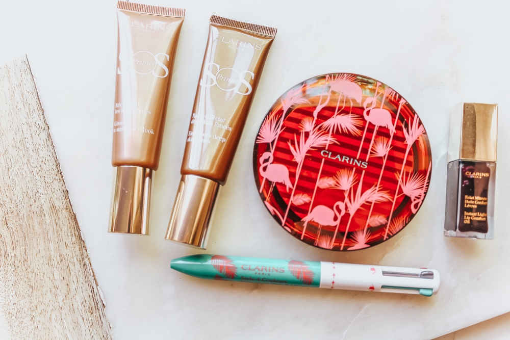 Summer Beauty Must Haves: Clarin's Summer Sunkissed Collection featured by popular California beauty blogger, Haute Beauty Guide