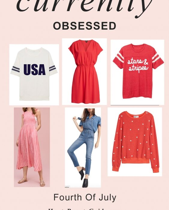 Currently Craving: 4th of July - Fourth of July Outfit Ideas featured by popular California style blogger, Haute Beauty Guide