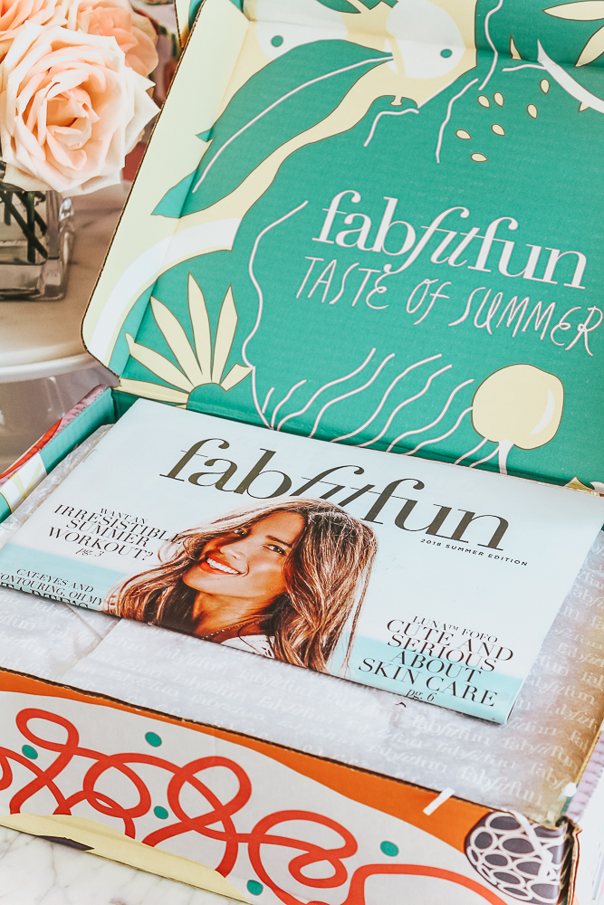 FabFitFun Summer Box 2018- Full Reveal featured by popular California style blogger, Haute Beauty Guide