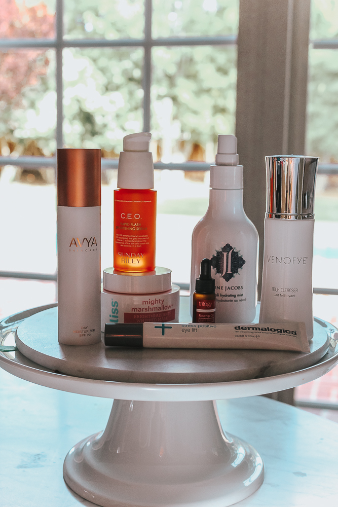 Facial Night Skincare: Soothing and Brightening Protocol by popular California beauty blogger, Haute Beauty Guide