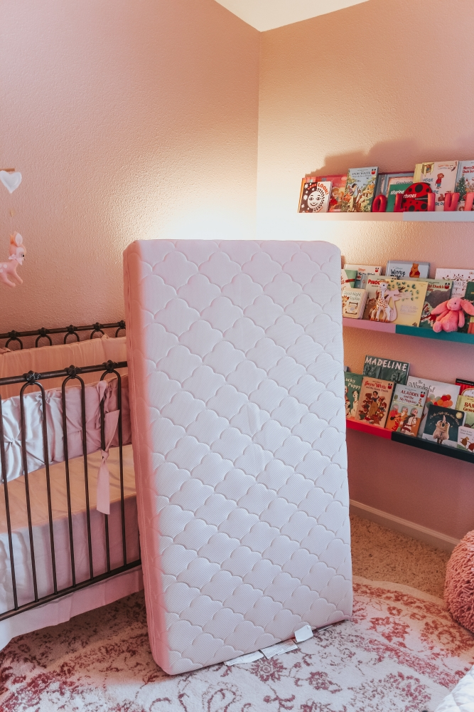Safe Sleep: A Newton Crib Mattress Review by popular California lifestyle blogger, Haute Beauty Guide
