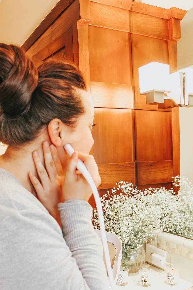 At Home Spa Treatment with Trophy Skin MicrodermMD featured by popular California beauty blogger Haute Beauty Guide