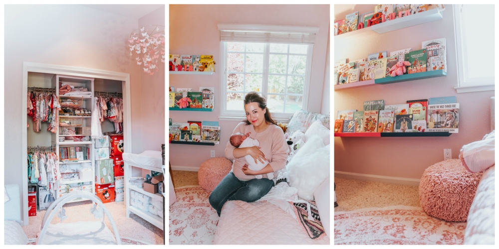 Olivia's Baby Girl Nursery Reveal by popular California mommy blogger, Haute Beauty Guide