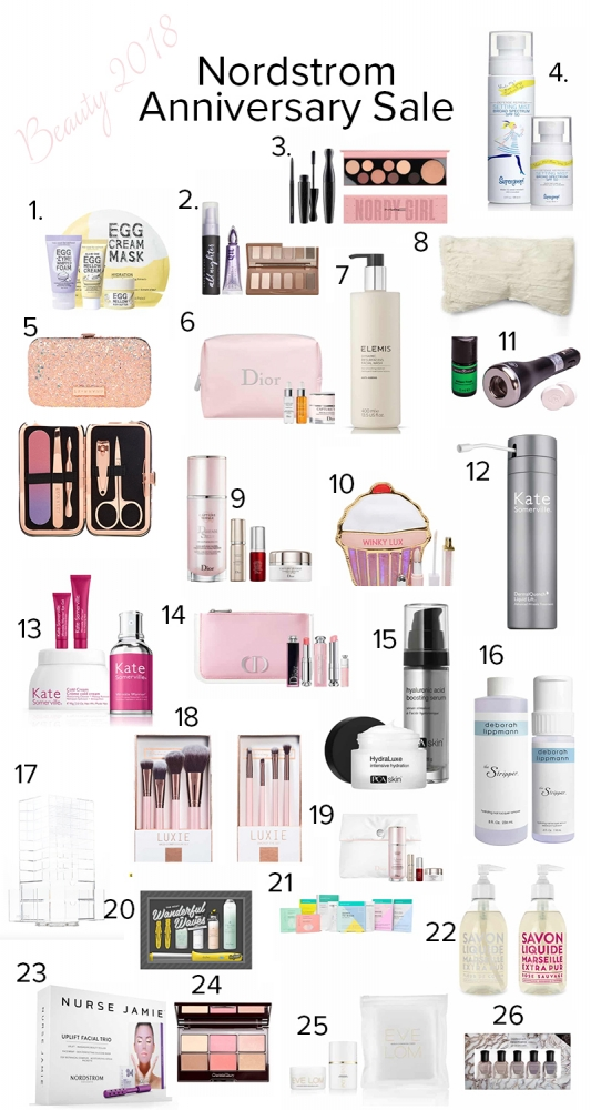 Top Beauty Picks from the Nordstrom Anniversary Sale featured by popular California beauty blogger Haute Beauty Guide