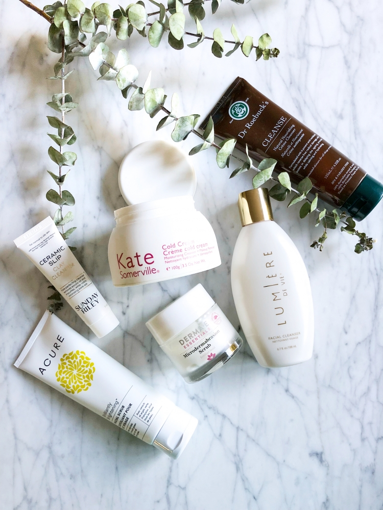 Triple Cleansing Like an Esthetician featured by popular California style blogger Haute Beauty Guide