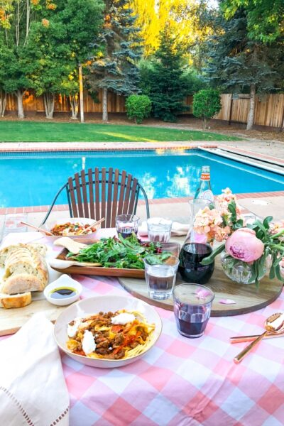 Creating Family Memories at dinnertime with Plated