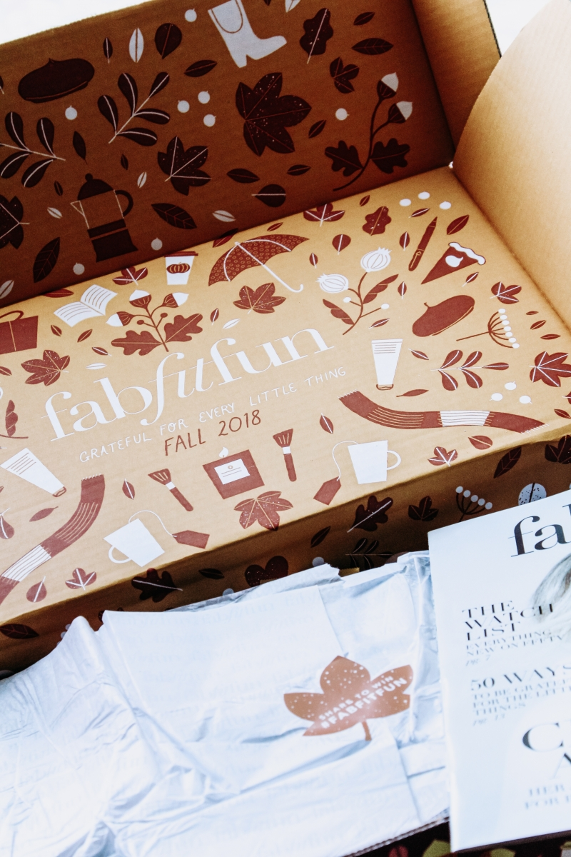 FAbFitFun Autumn Reveal 2018 featured by popular California life and style blogger, Haute Beauty Guide