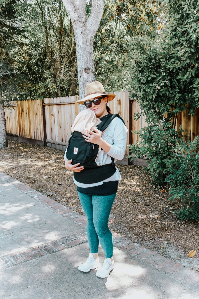 Ergobaby Omni 360 Baby Carrier All-In-One Cool Air Mesh Review featured by popular California lifestyle blogger Haute Beauty Guide | Beauty | Baby | Fashion | Black Friday and Cyber Monday Sales featured by top California life and style blog Haute Beauty Guide