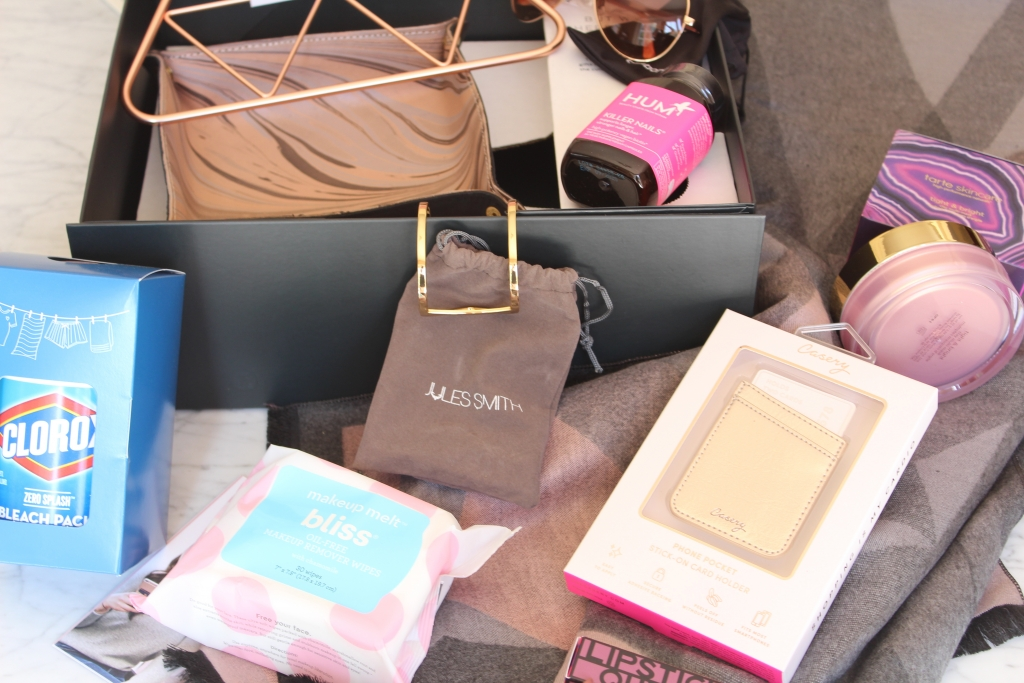 Popsugar Fall Box Reveal featured by popular California life and style blogger, Haute Beauty Guide