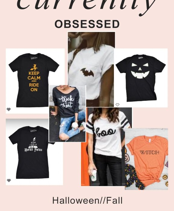 Halloween Tshirts - Currently Obsessed: Cute Halloween Tees featured by popular California life and style blogger, Haute Beauty Guide