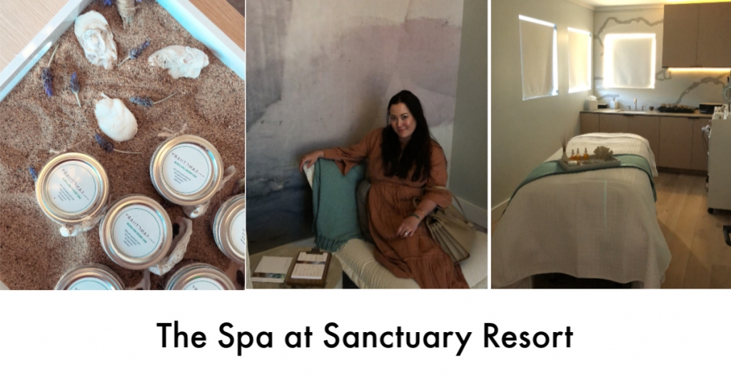 The Spa at Sanctuary featured by popular California beauty blogger, Haute Beauty Guide