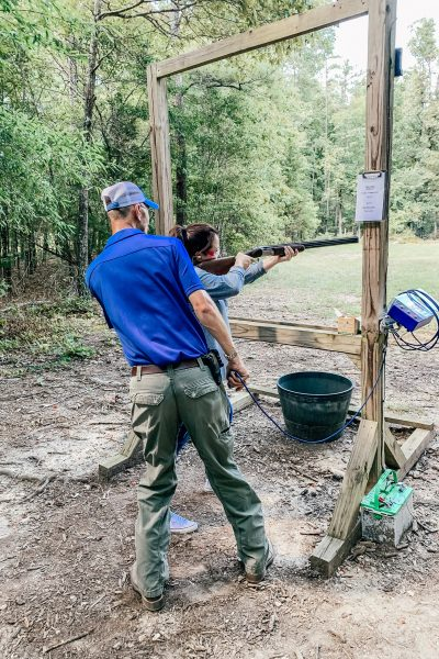 Clays shooting at the Beretta Hunting Ground by High Adventure Tours Barnsley Resort