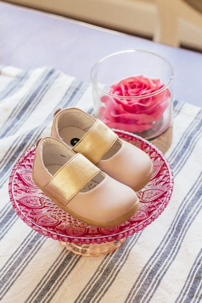 Useful Baby Gifts That New Moms Will Actually Use by popular California lifestyle blog, Haute Beauty Guide: image of Bobux shoes.