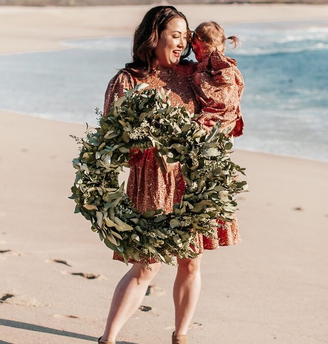 Mommy and Me Christmas Card Ideas
