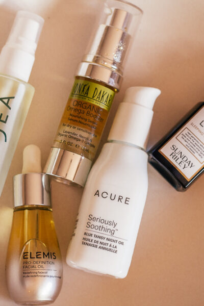 my 5 Favorite Face Oils and Who Should Use Them