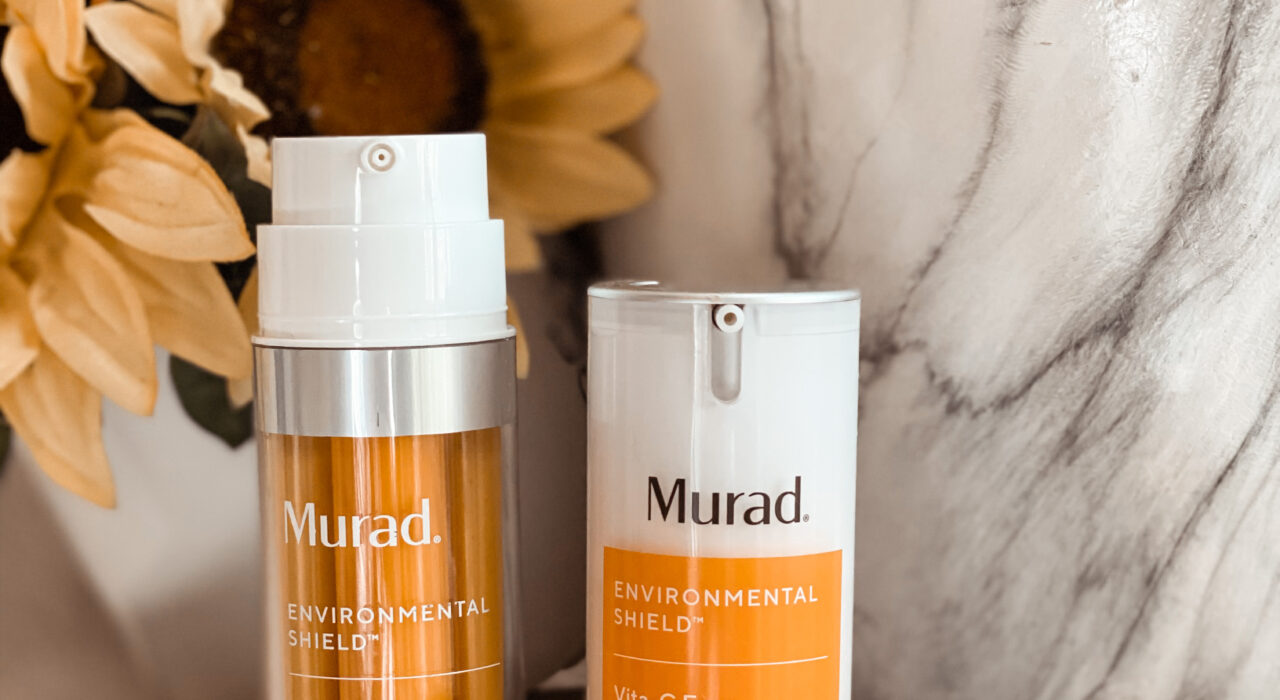 Murad Vitamin C by popular Monterey beauty blog, Haute Beauty Guide: image of some Murad Vitamin C beauty products.